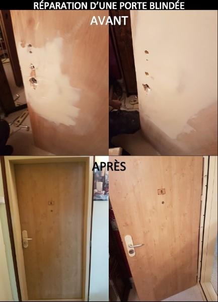 ***Nouveauté*** Nous réparons vos menuiseries PVC, bois et aluminium et nous proposons de modifier le coloris.